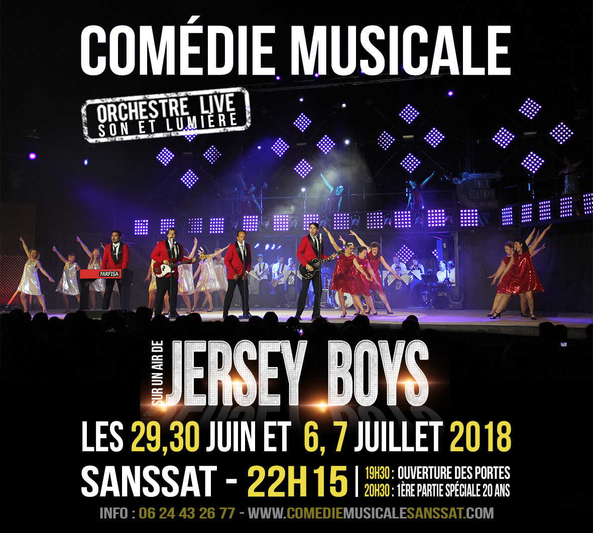 spectacle 2018 - Jersey Boys